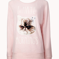 I Hate Mornings PJ Sweatshirt