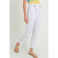 Straight To It Pants - Ivory