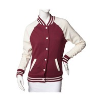 Womens Varsity Fleece Jacket