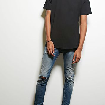 MNML Drop-Shoulder Cotton Tee