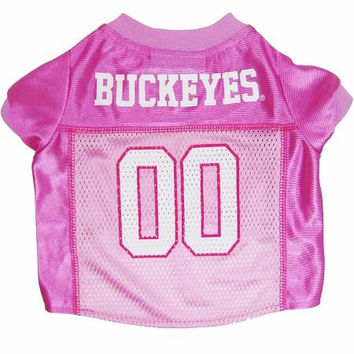 Ohio State Buckeyes Pink Jersey MD