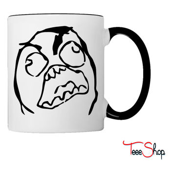 RageFace Coffee & Tea Mug