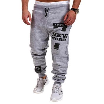 2015 Spring & Autumn Outdoors Cargo Loose Trousers Men Sweat Leisure Joggers Pants Slim Fit Sweatpants for Dance Leisure Pants