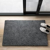 "Gray Thick & Thin Shag Accent Rug 2'6""x4' - Project 62™"