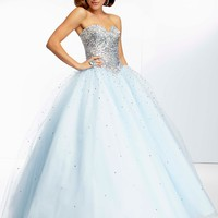 Paparazzi by Mori Lee 95051 Tulle Prom Dress