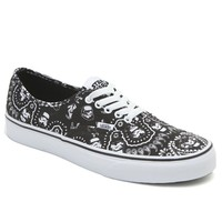 Vans - Star Wars Authentic Storm Trooper Shoes - Mens Shoes - Black