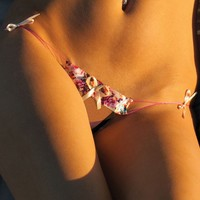 Almost Invisible G-String With Side Bows