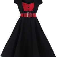 Lindy Bop Women's 'Geneva' 1950's Vintage Inspired Swing Party Dress