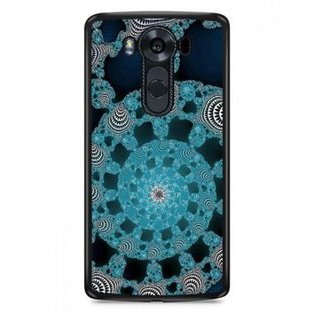 Abstract Doily LG V30 Plus Case | Casefruits