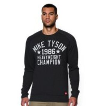Under Armour Men's Roots Of Fight Mike Tyson WHC Fleece Crew