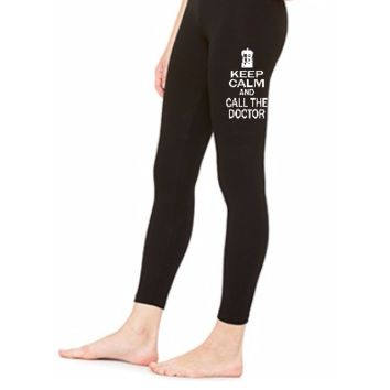 keep calm and call doctor - LEGGING