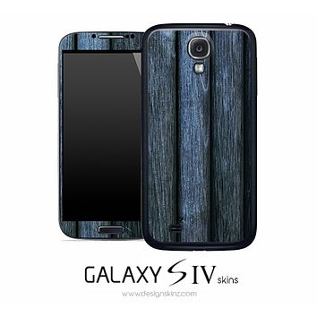 Aged Wood Skin for the Galaxy S4