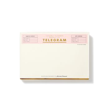 kate spade new york Telegram Notepad