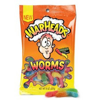 Warhead Sour Worms Peg Bag