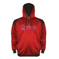 St. Louis Cardinals Quarter-Zip Hoodie - Big & Tall, Size: