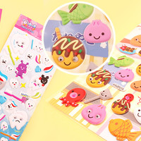 Buy Kawaii Googly Eye Stickers - Japanese Foods at Tofu Cute