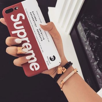 Supreme Iphone 6/6s Iphone 7 Apple Innovative Iphone Matte Phone Case [429902069796]
