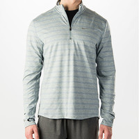 Men's Nike Element Stripe Half-Zip Running Shirt