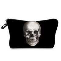 Skull Cosmetic Makeup Storage Bag