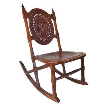 Pre-owned Antique Childs Rocking Chair C. 1872