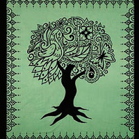 Tree of Life Bedspread or Tapestry 90 x 100 : Pagan Store, Wiccan Store, Witchcraft Store, An online Pagan, Wiccan and Witchcraft store