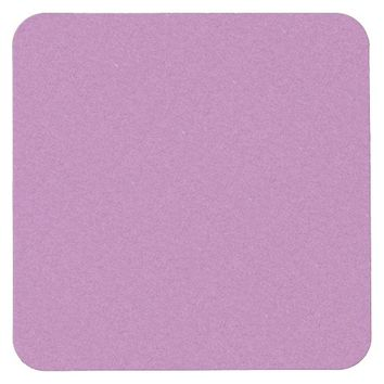Light Purple Speckled Square Paper Coaster