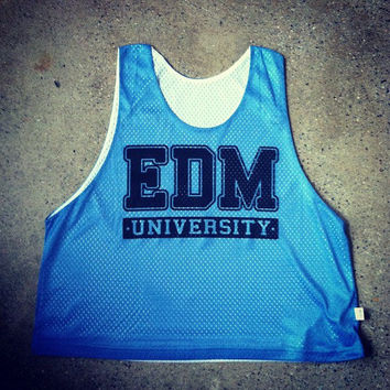 Rave Clothes - EDM University - Neon Reversible Lacrosse Pinnies, Pennies - Bad Kids Clothing – Bad Kids Clothing