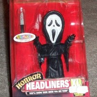 1999 Horror Headliners XL Figurine - Ghost Face from Scream movie - Spencer Gifts Exclusive - individually numbered out of 15,000