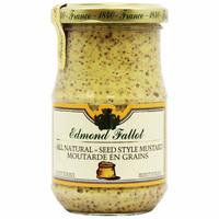 Edmond Fallot Old Fashioned Seeded Dijon Mustard 7.2 oz (205g)