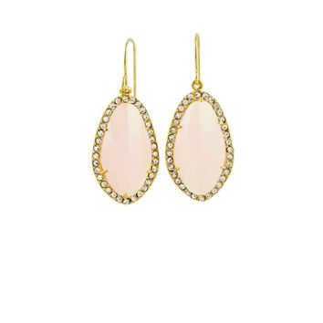 Ice Pink Earrings