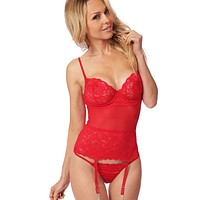 Underwire Bustier Set