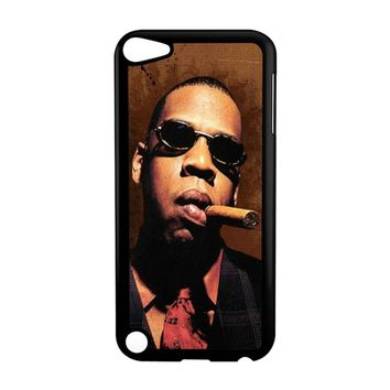 Jay-Z Cigar Glasses Tie Vest 01  iPod Touch 5 Case