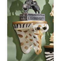 Park Avenue Collection Giraffe Wall Shelf