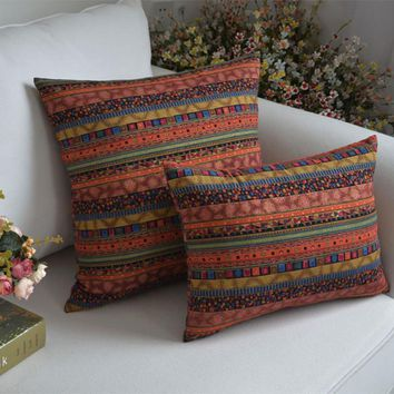 Three Sizes of Bohemian Style Vintage Cushion without inner Home Decor Sofa Chair Seat Decorative Throw Pillow Almofada cojines
