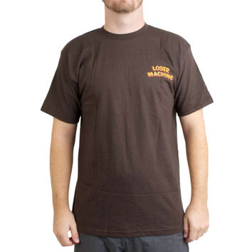 Loser Machine Company - Speakeasy Brown T-Shirt