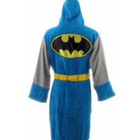 Batman Vintage Limited Edition Unisex Terrycloth Robe Adult One Size Fits Most