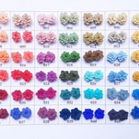 Creta color palette- choose color here - pastel color- polymer clay jewelry