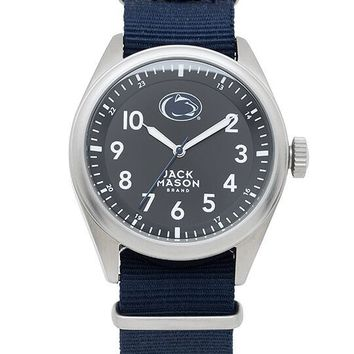 Penn State Nittany Lions Men's Nato Solid Strap Watch by Jack Mason