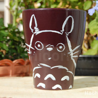 Cup of Totoro brown