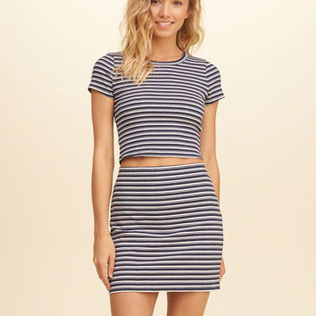 Girls Ribbed Crop Top | Girls Clearance | HollisterCo.com