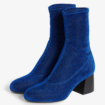 Monki   Shoes   Stretch ankle boots