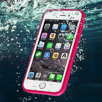 beach holiday waterproof underwater shockproof durable full sealed iphone 6s 6 plus 5s 5 se protective case gift box  number 1
