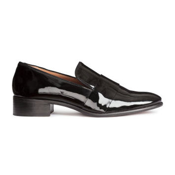 H&M Patent Leather Loafers $69.99
