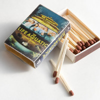 VHS Tape Matchbox - The LIFE AQUATIC by Wes Anderson