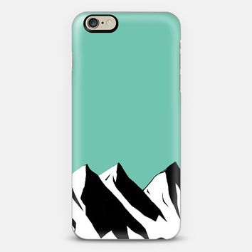 Mountaints iPhone 6 case by Inga Provorova | Casetify