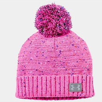 Under Armour Speckle Beanie, Chaos, One Size