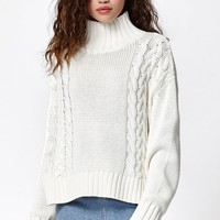 Rusty Lotus Hi Neck Knit Pullover Sweater at PacSun.com