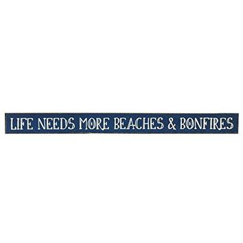 Life Needs More Beaches - Wooden Sign by My Word!