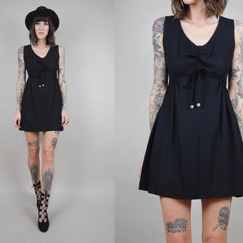 ON SALE 60's Babydoll mini Scooter DRESS
