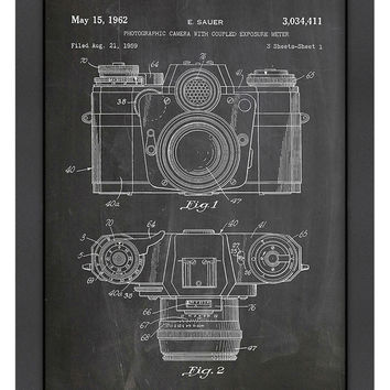 Camera Photo by House of Borders (Framed)